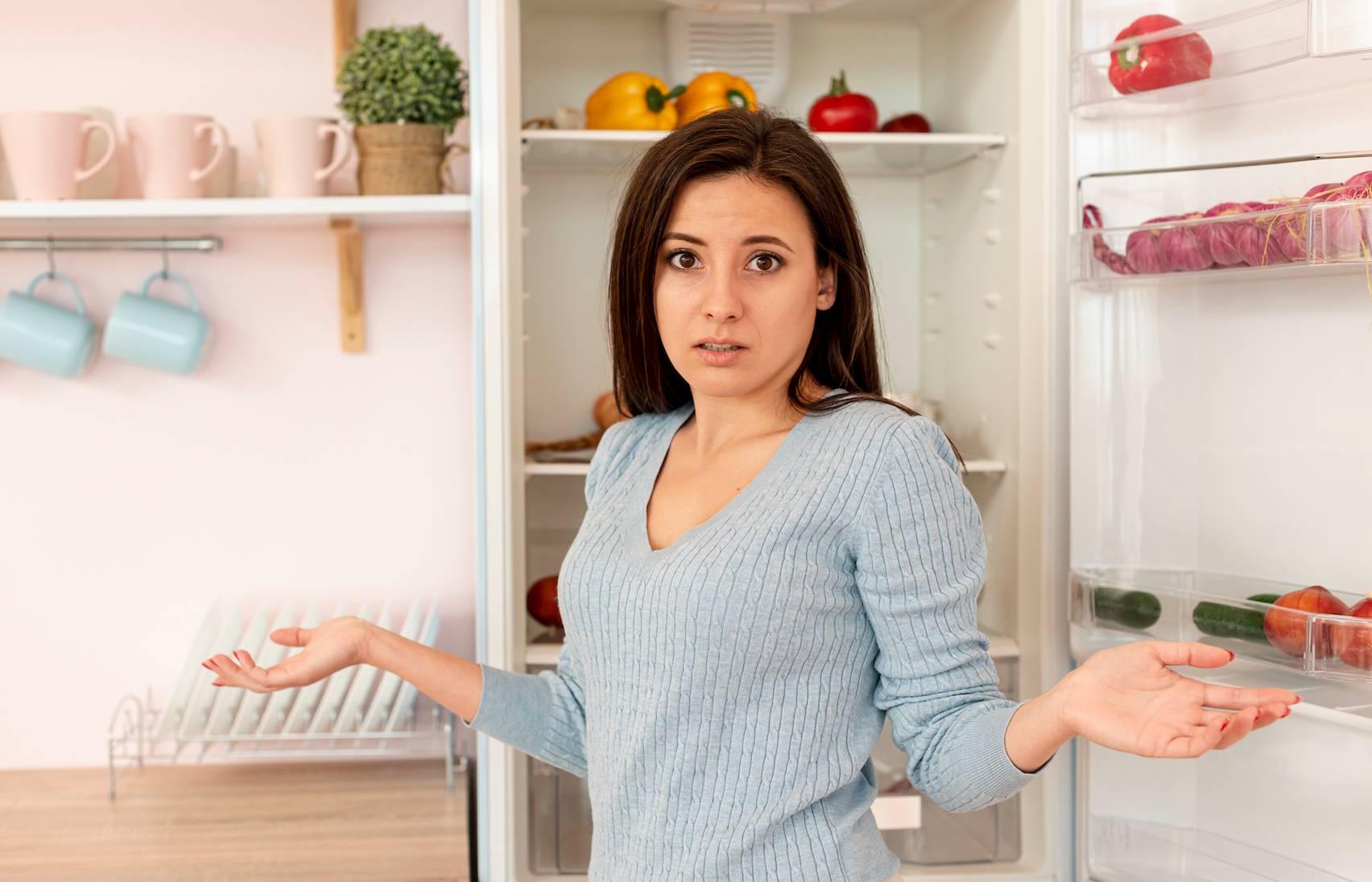 Alimentos no congelador